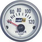 raid hp 660220 inštrument za avtomobil za vgradnjo prikaz temperature vode Merilno območje 40 - 120 °C srebrna serija mo