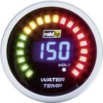 raid hp 660502 inštrument za avtomobil za vgradnjo temperatura vode Merilno območje 40 - 150 °C nightflight digital blue