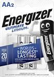 Energizer R6-litium-batteri Ultimate, 2-pack