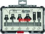 Bosch Trim&Edging fräs set, 6-delars, ¼