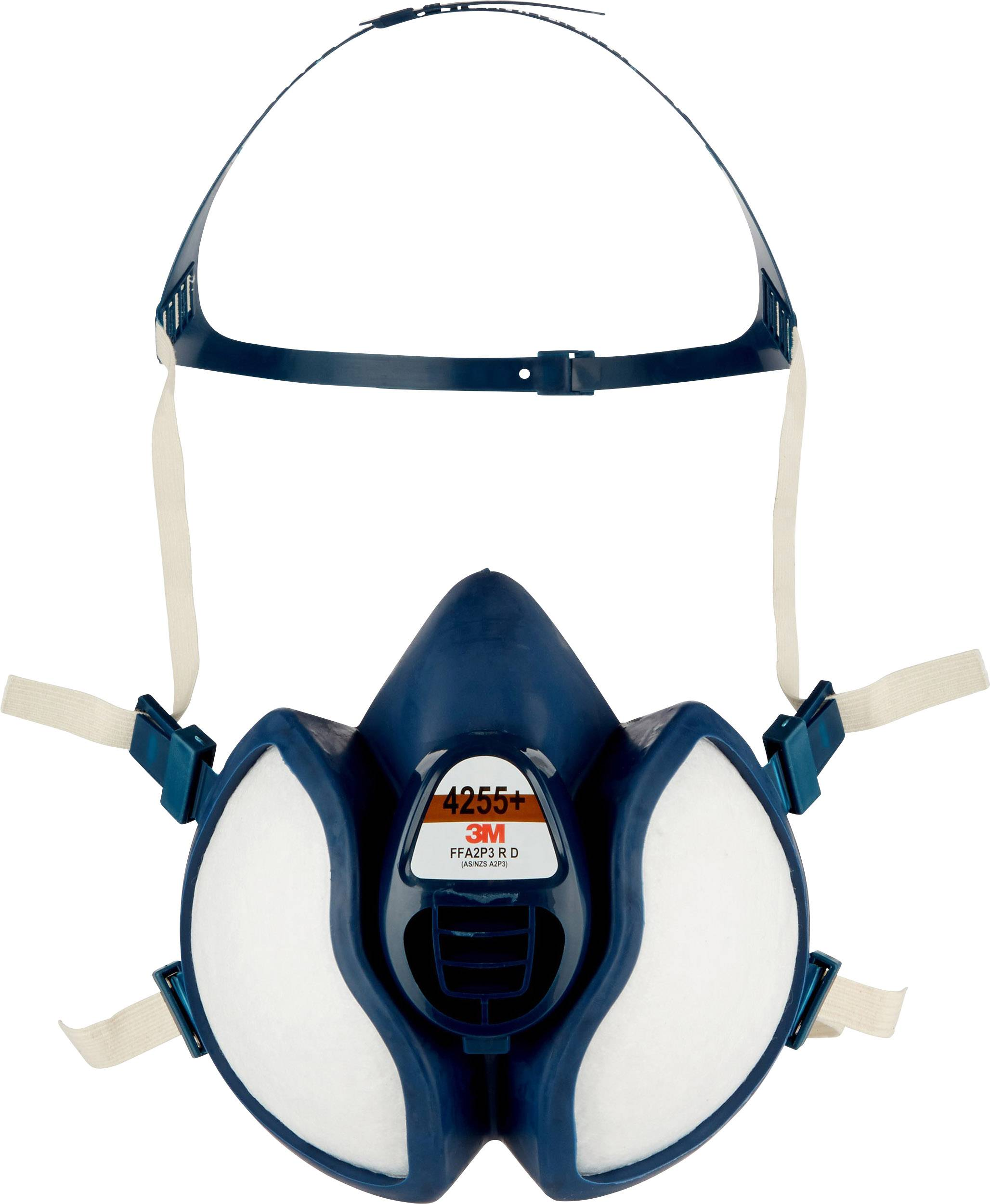 Nykomna 3M 4255+ Andningsskydd halvmask FFA2P3 R D | Conrad.se JY-73