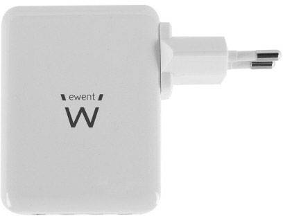 ewent by Eminent EW1304 USB laddare Vägguttag 4 x USB