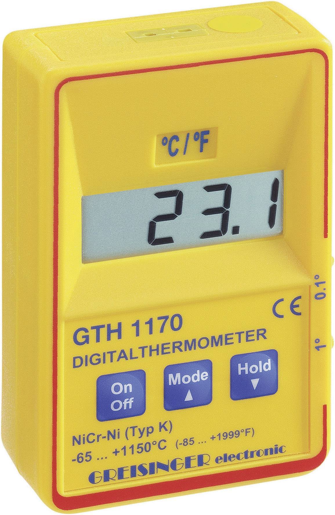 Greisinger GTH 1170 Temperaturmätare -65 till +1150  616967196e491