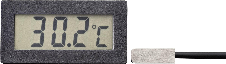 Digital panelmätare VOLTCRAFT TM 70 LCD temperaturmodul TM 70 Inbyggnadsmått 48 x 24 mm