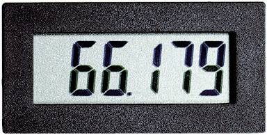 Digital panelmätare VOLTCRAFT DHHM 230 Drifttimmemätare DHHM 230 Inbyggnadsmått 45,5 x 22 mm