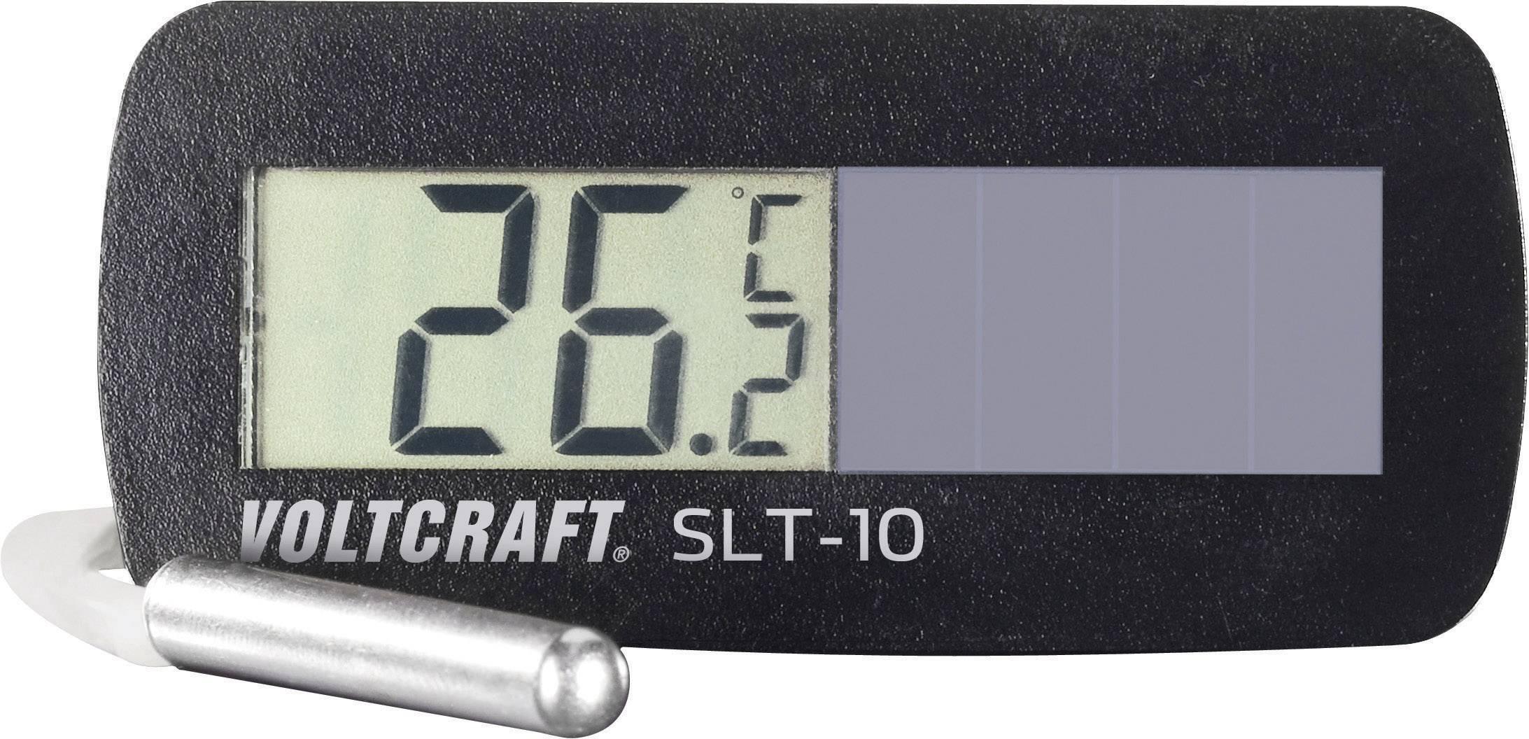 VOLTCRAFT SLT 10Termometer för infälld montering solceller,Inbyggnadsmått 60x26 mm, vat