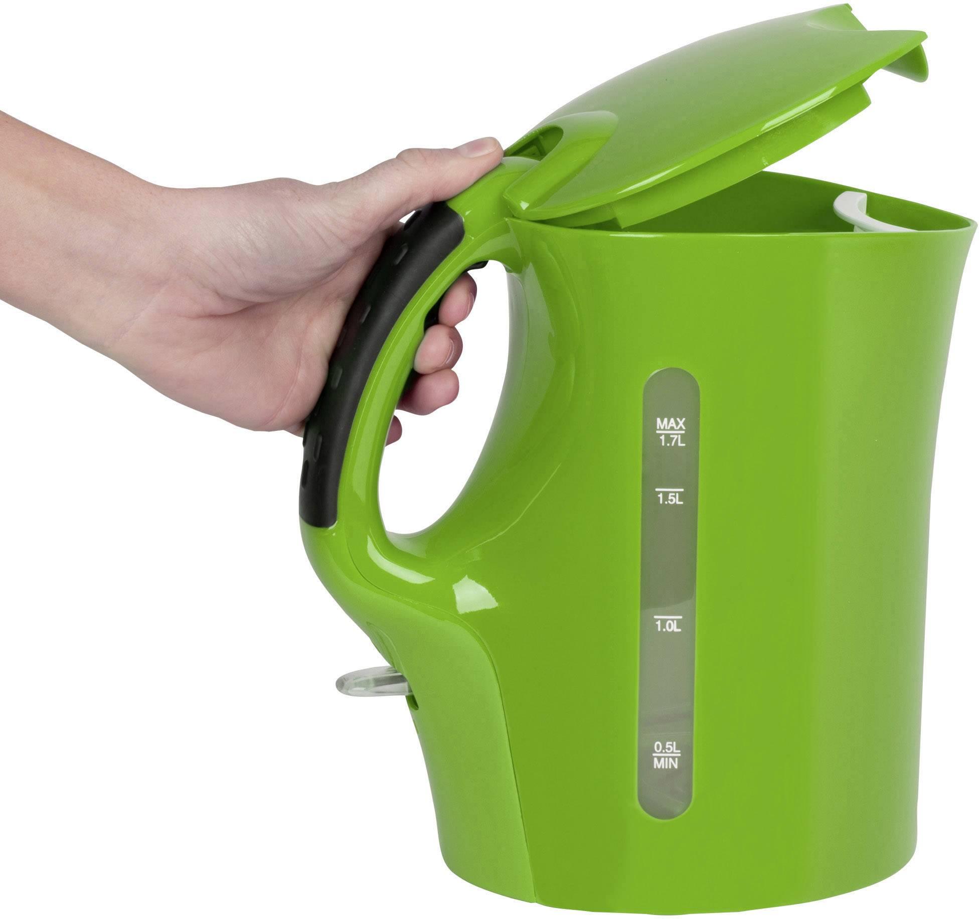Clatronic vattenkokare WK 3445 1,7 L grön recensioner