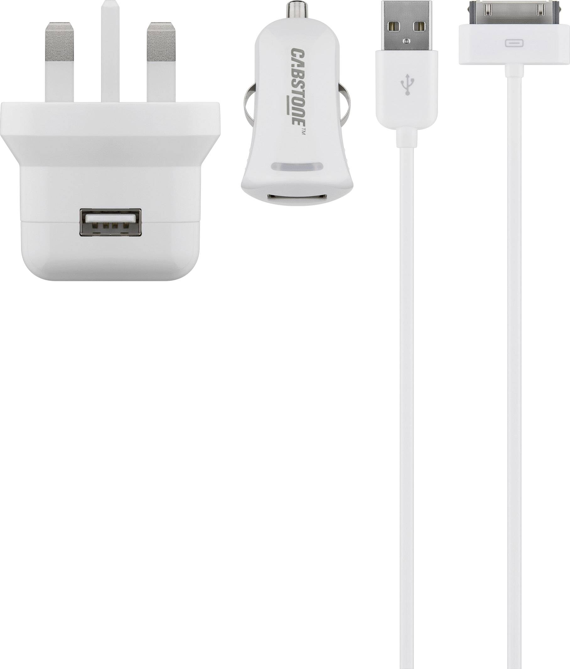 USB laddare med 2 utgångar för IphoneIpad