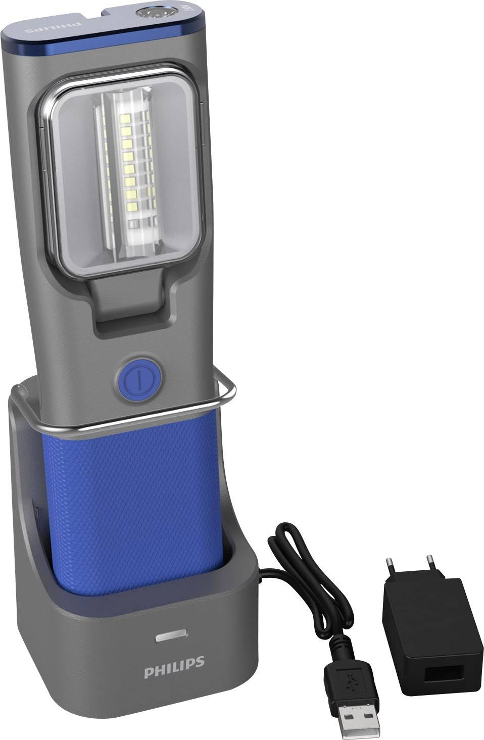 Strålande SMD-LED Arbetslampa Uppladdningsbara batteri Philips LPL34UVX1 WD-56
