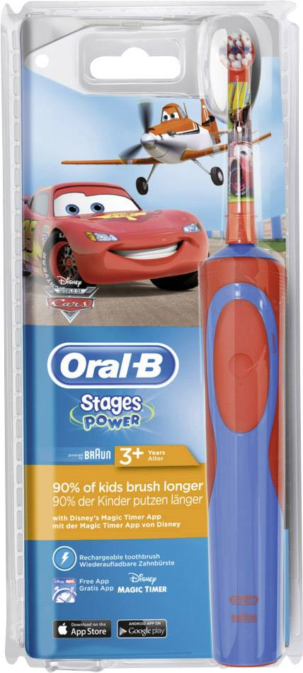 Eltandborste barn Oral-B Stages Power Cars Planes  73cf6d47b6dcf
