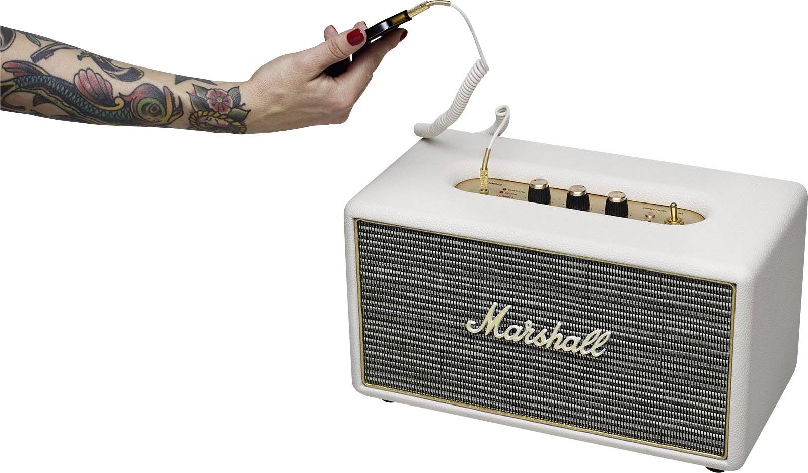Marshall Stanmore BT Cream Bluetooth-högtalare AUX   ea09182edb957