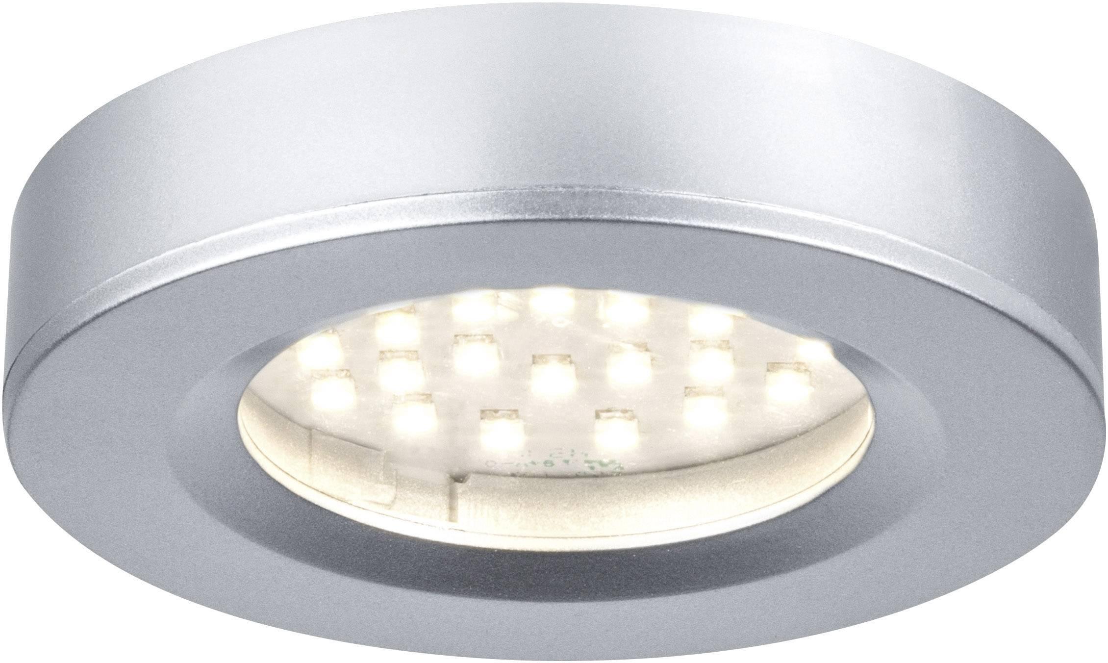 Populära LED-utomhusbelysning tak Paulmann Platy 93580 7.5 W Varmvit Krom YM-98