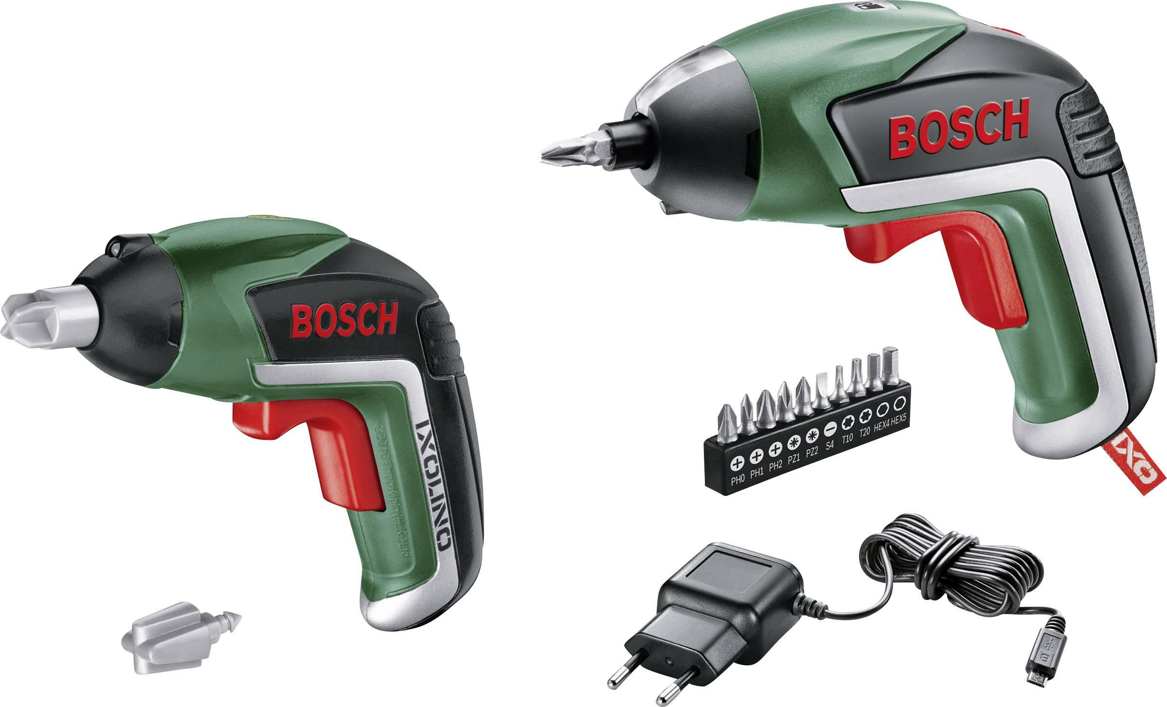 Prima Skruvdragare batteri Bosch Home and Garden IXO V IXOlino Set 3.6 V FR-87