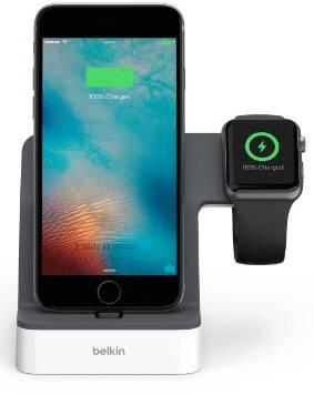 Belkin PowerHouse???Dockningsstation för iPhone Apple Svart, Vit