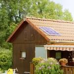 Minanläggning för solenergi 20 W med 8Ah batteri