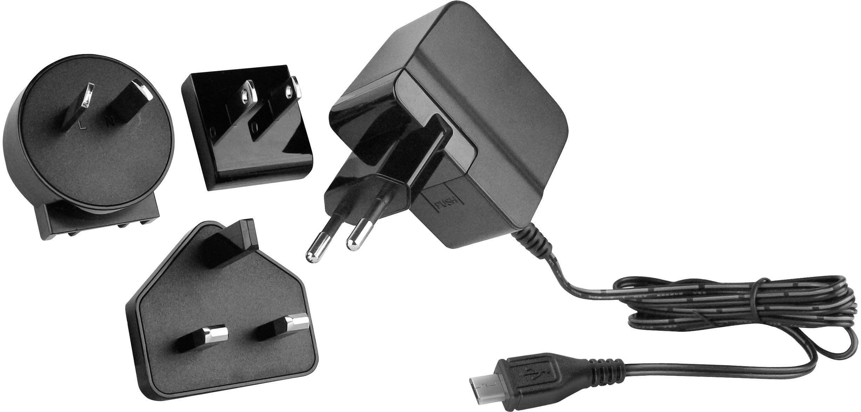 HN Power HNP06I MiniUSBL6 HNP06I MiniUSBL6 USB laddare Vägguttag Utgångsström max. 1500 mA 1 x Mini USB Stabiliserad