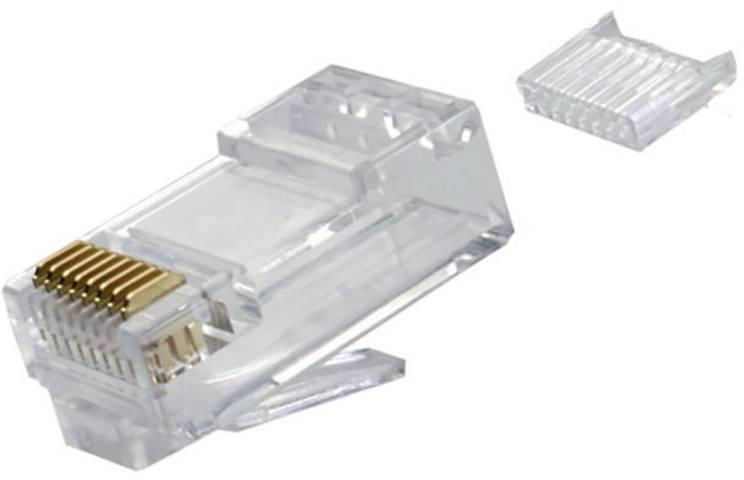 Beskyttelsesdeksel til RJ45 for Cat. 7 og 6a modulære kontakter, 8,5 mm, blå