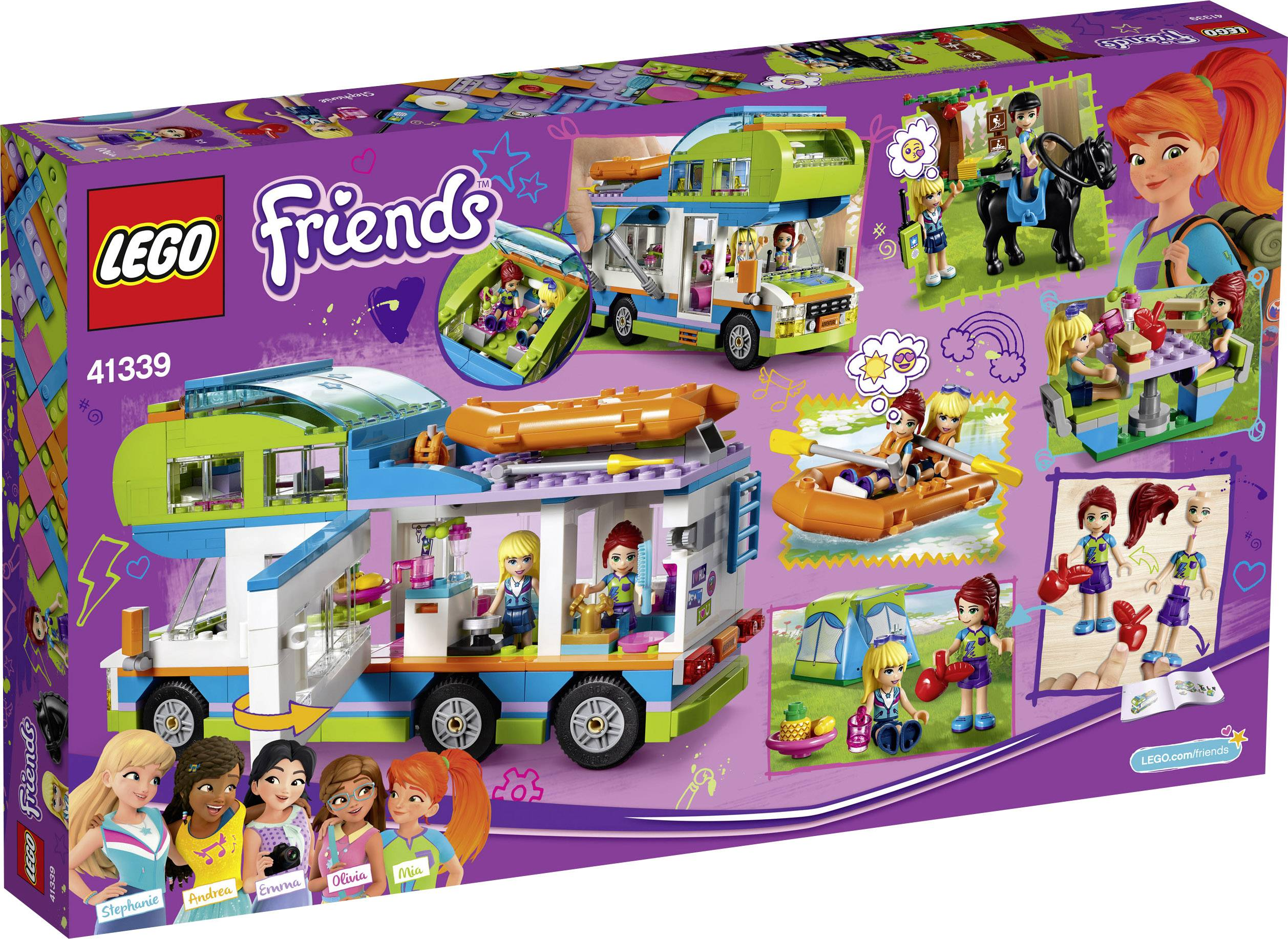 Wonderful LEGO® FRIENDS 41339 Antal bitar 488 | Conrad.se JQ-37