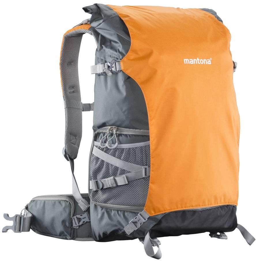 Kamera-ryggsäck Mantona Orange 635ada502fe27
