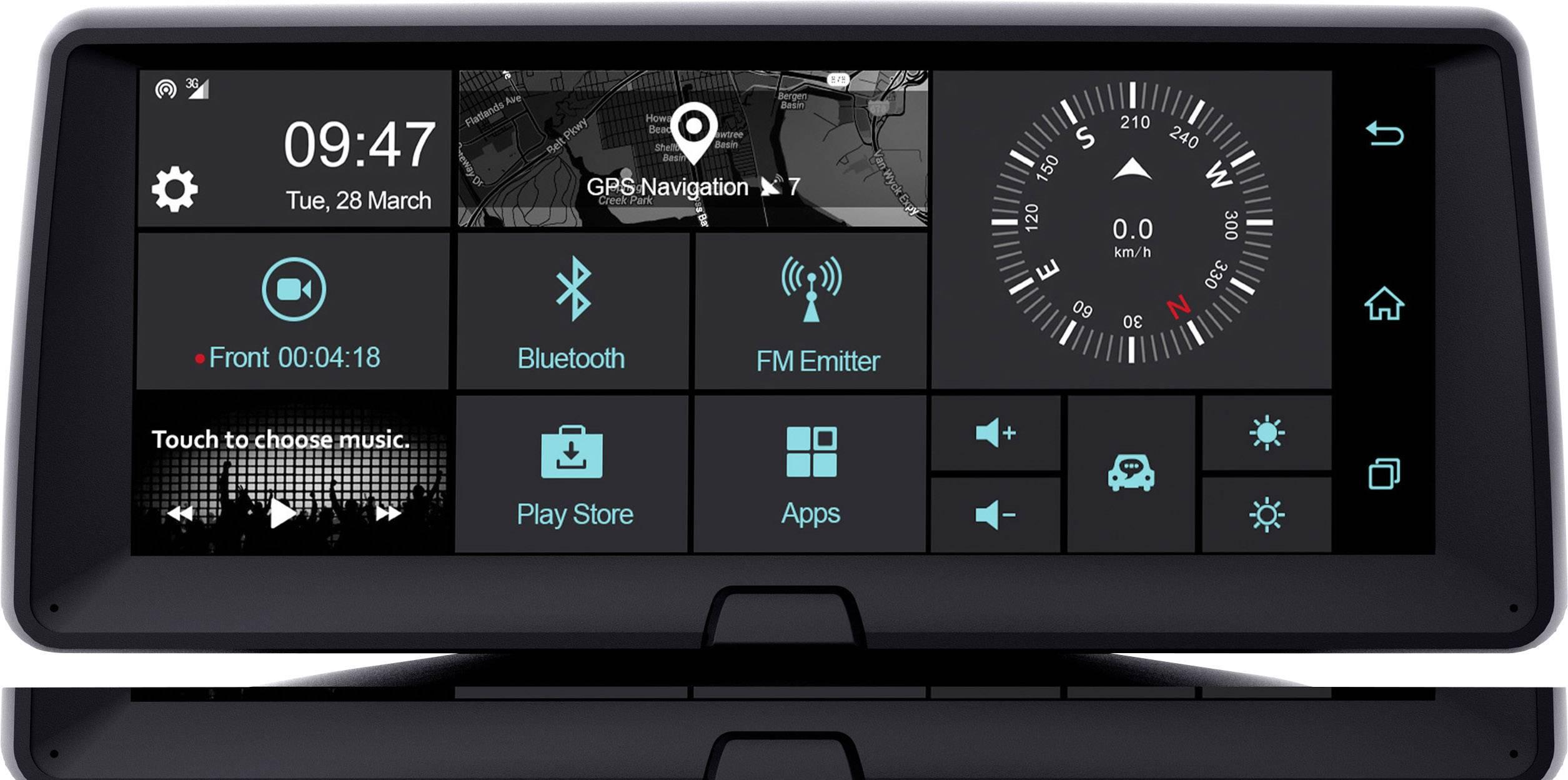 Phonocar Vm321e Dashboard Multimediasystem Bilkamera Med Gps