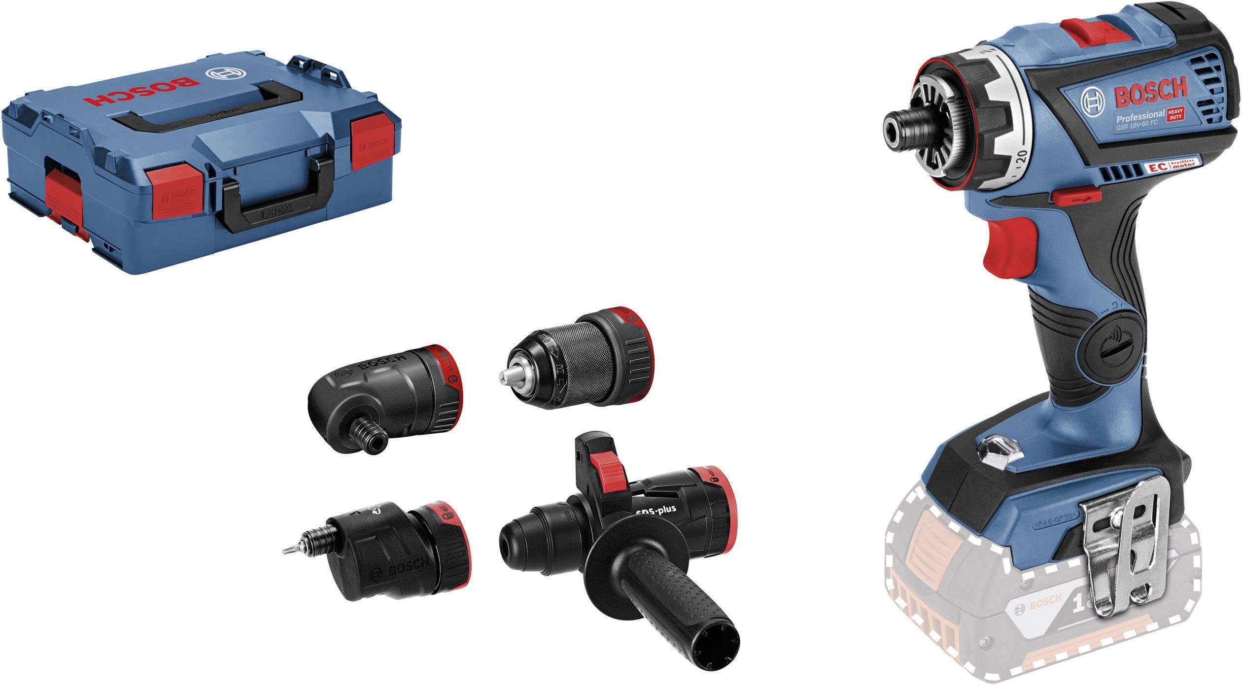 Borrskruvdragare batteri Bosch Professional GSR 18V-60 FC 18 V Li-Ion exkl.  batteri laddare 0160de6a47f4d