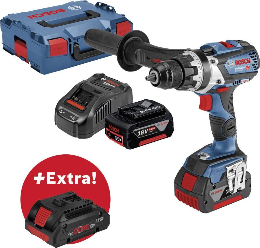 Borrskruvdragare batteri Bosch Professional GSR 18V-85 C + ProCORE18V 4.0Ah  18 V 5 Ah Li-Ion Inkl. 3x batteri 9e3d530ab7620