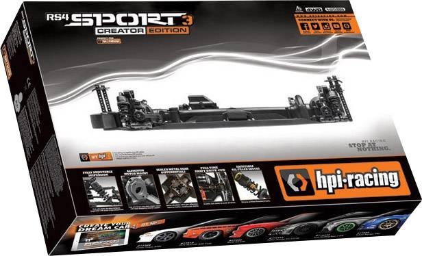 HPI Racing 3 Challenge 1:10 RC modellbil Elektrisk