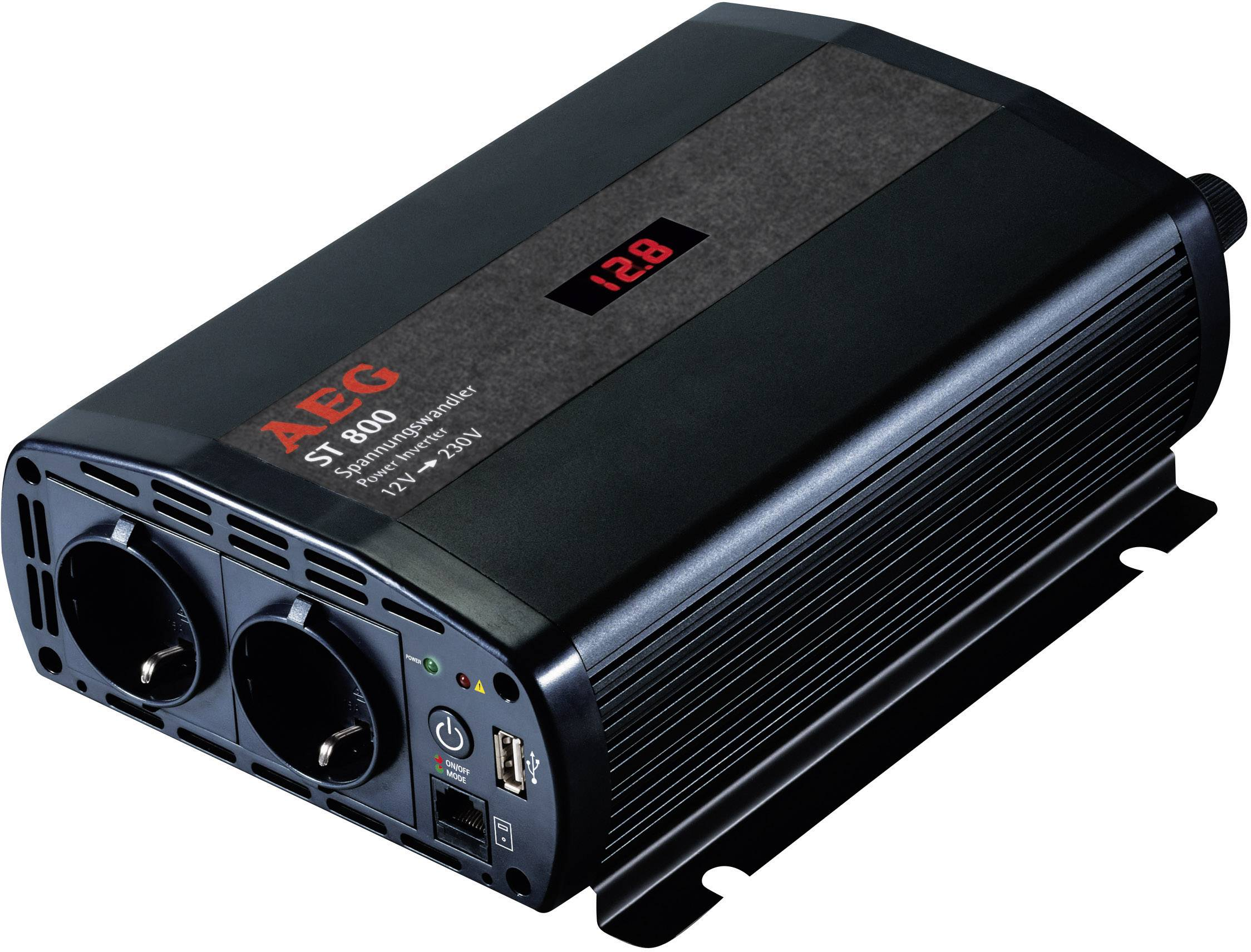 AEG SW 1000 Växelriktare 1000 W 12  a3d7394b55e8a