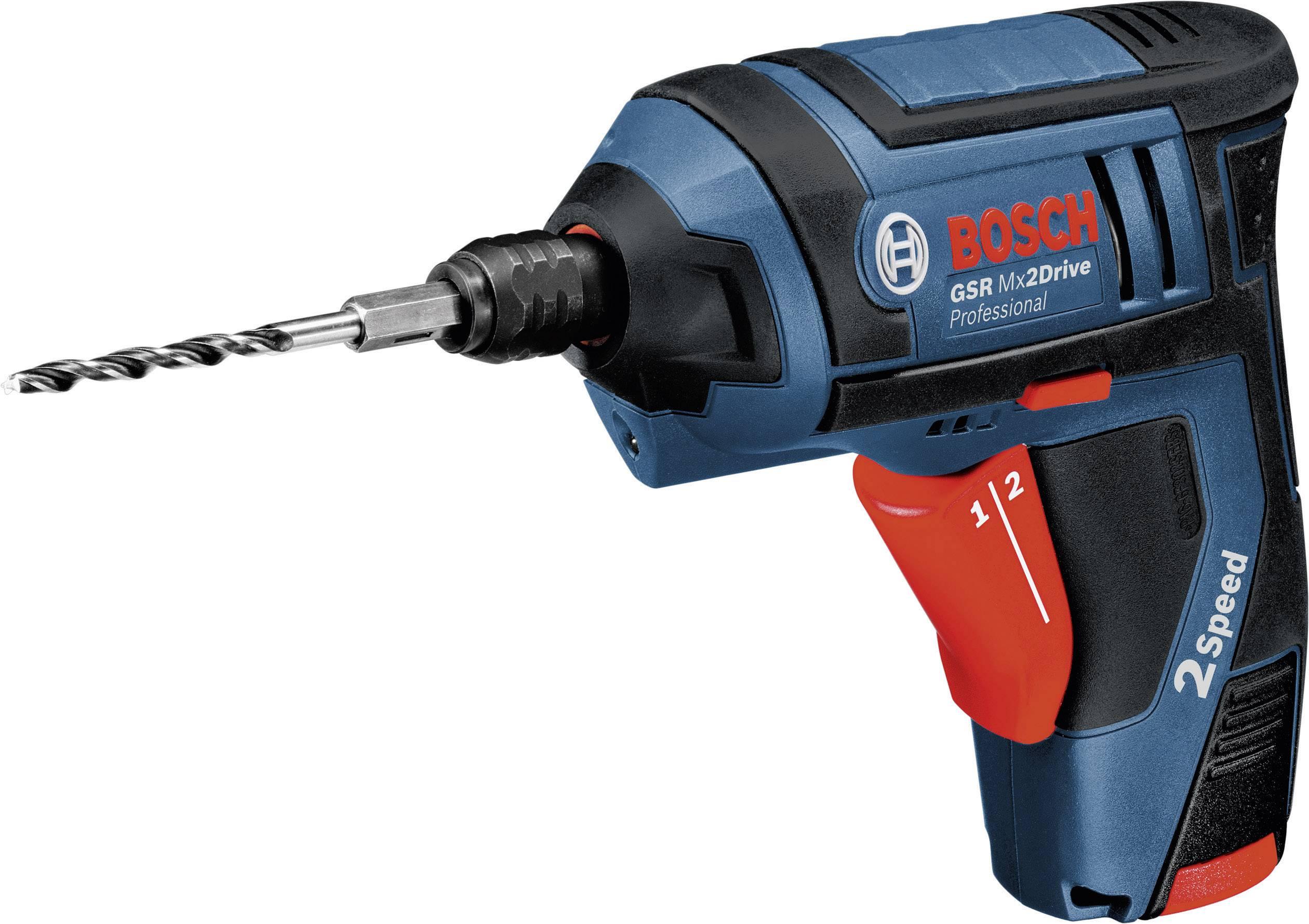 Fantastisk Bosch Professional GSR MX2Drive Skruvdragare batteri Inkl. 2x FW-05