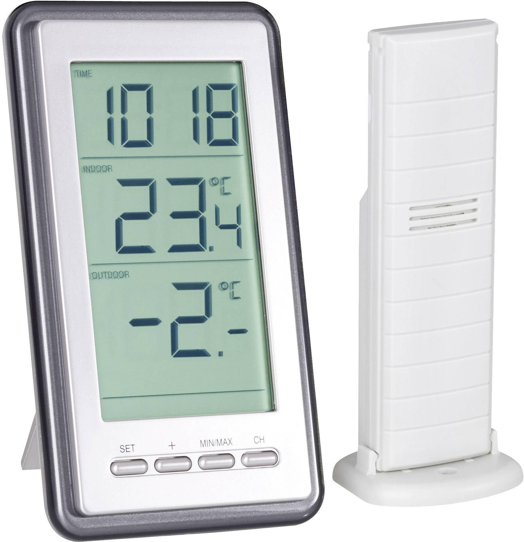 WS-9160-IT Trådlös termometer Silver  0e82cfbec40fe