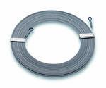 Kabelindragnings-band, stål 15 m styrka 3,5 x 0,5 mm 900N