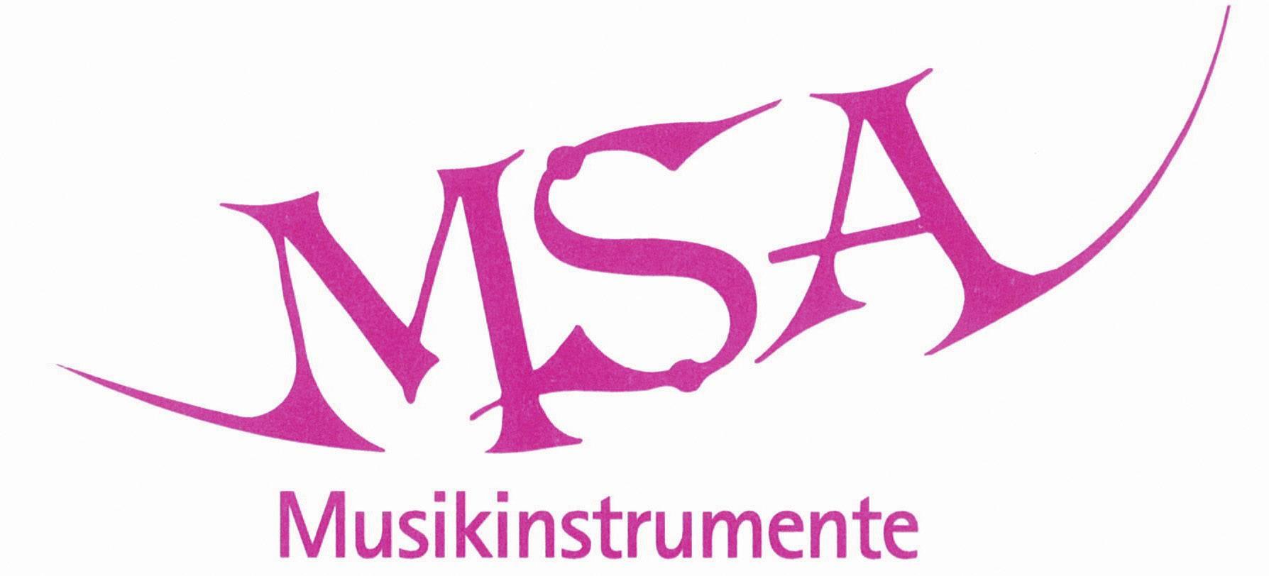 Akustisk gitarr paket MSA Musikinstrumente C9 Set Clip 34 Blå inkl. väska