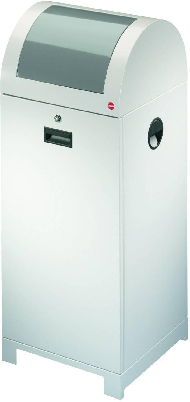 Mülleimer 70 l Hailo ProfiLine  ... 0 x 400 mm Weißaluminium  1 St.