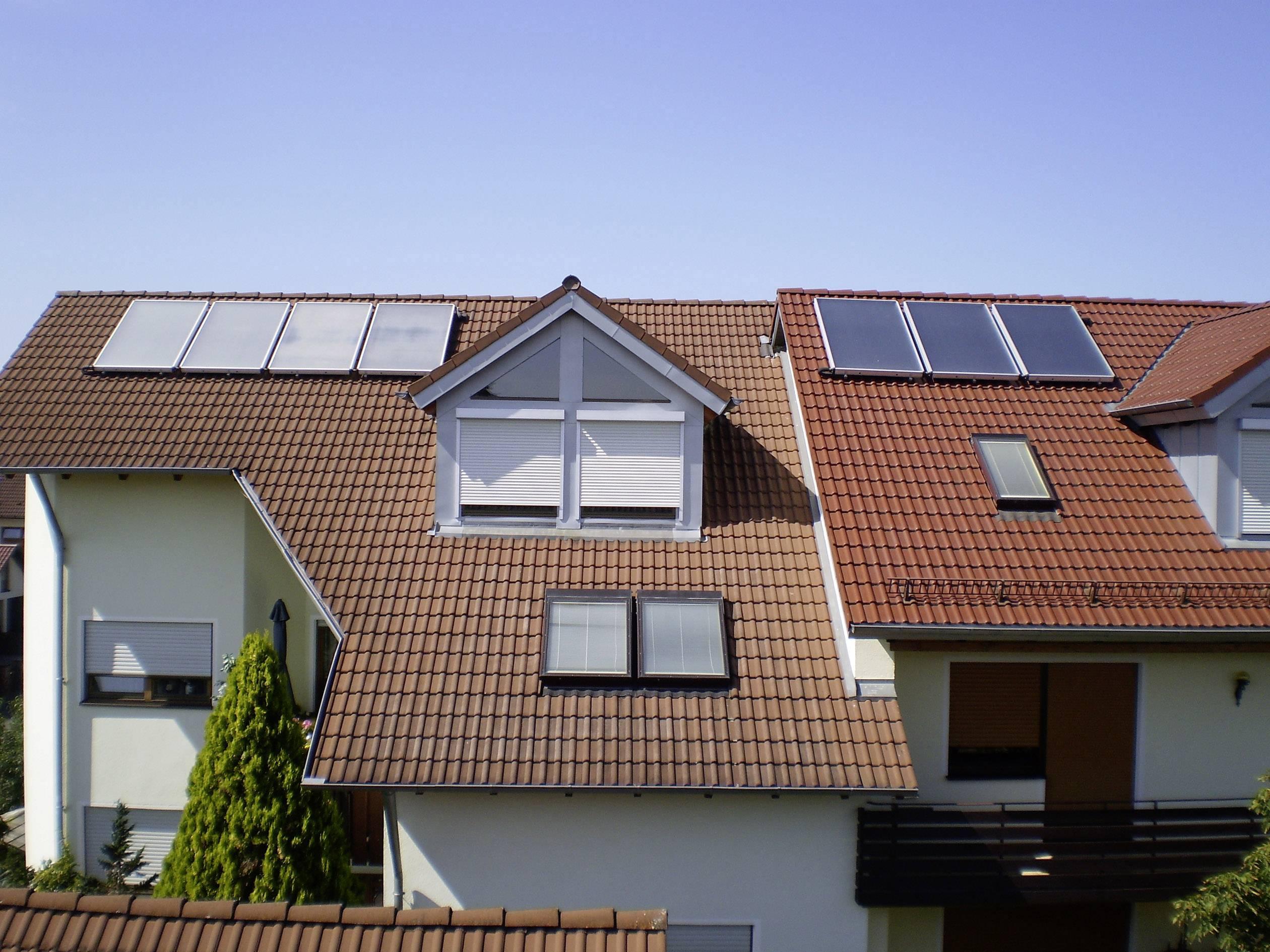 Thermische-Solaranlage SUN 17 HZ ... 3005 Kollektor-Fläche 17,57 m²