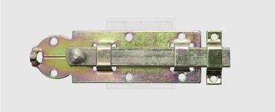 SWG Türriegel mit Knopf und Sch ...  mm Stahl verzinkt 80 mm   1 St.
