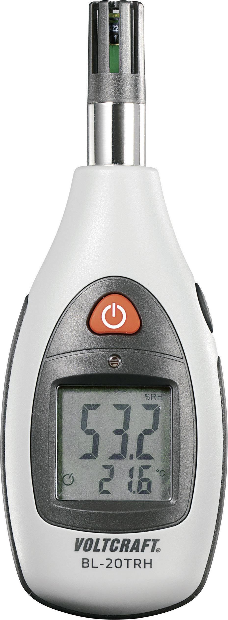 VOLTCRAFT BL-20 TRH Luftfeuchtem ...  Werksstandard (ohne Zertifikat)