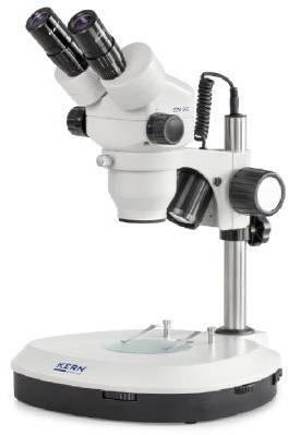 Stereo-Zoom Mikroskop Trinokular ... ics OZM 544 Durchlicht, Auflicht