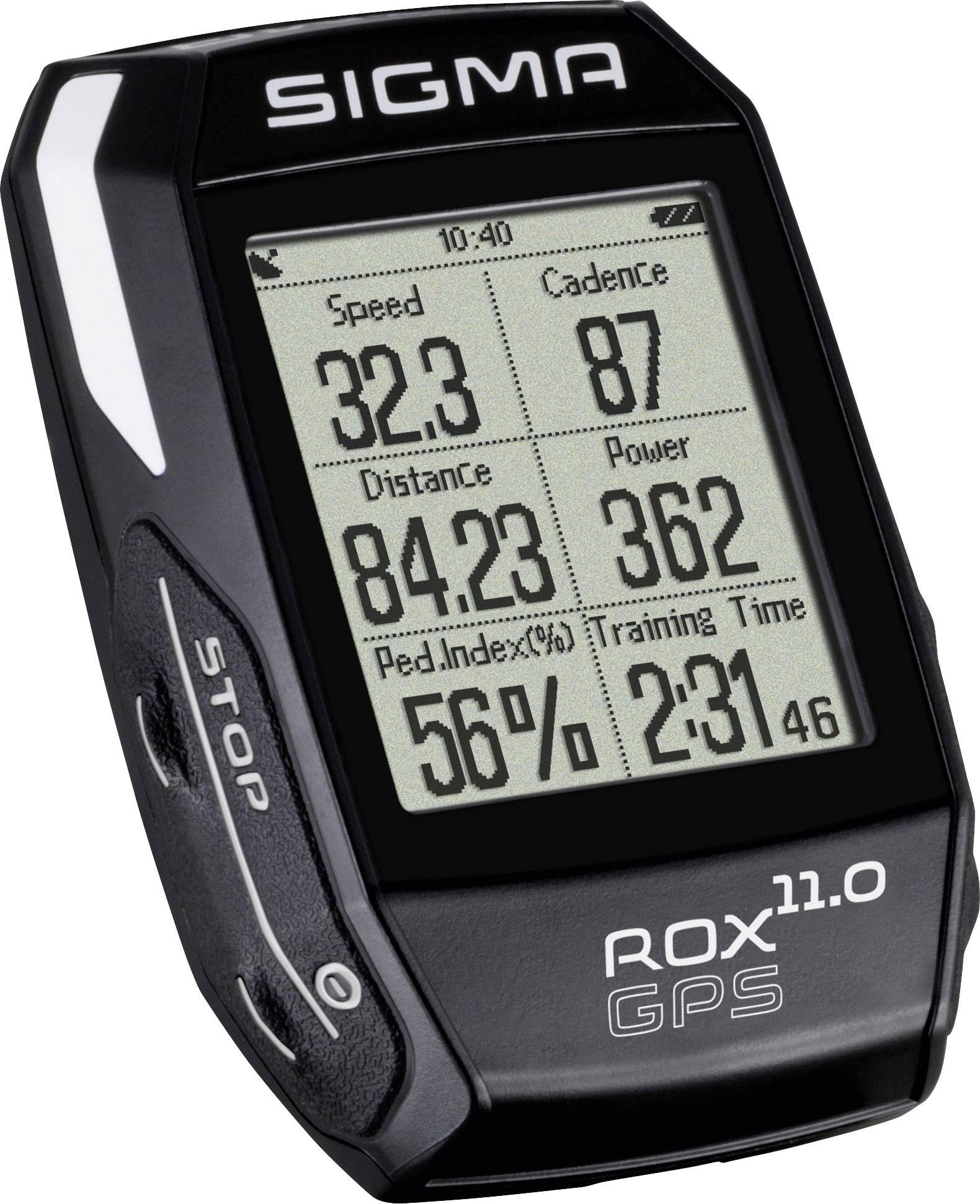 Sigma ROX 11.0 GPS Basic noir Fa ... , kabellos Codierte Übertragung