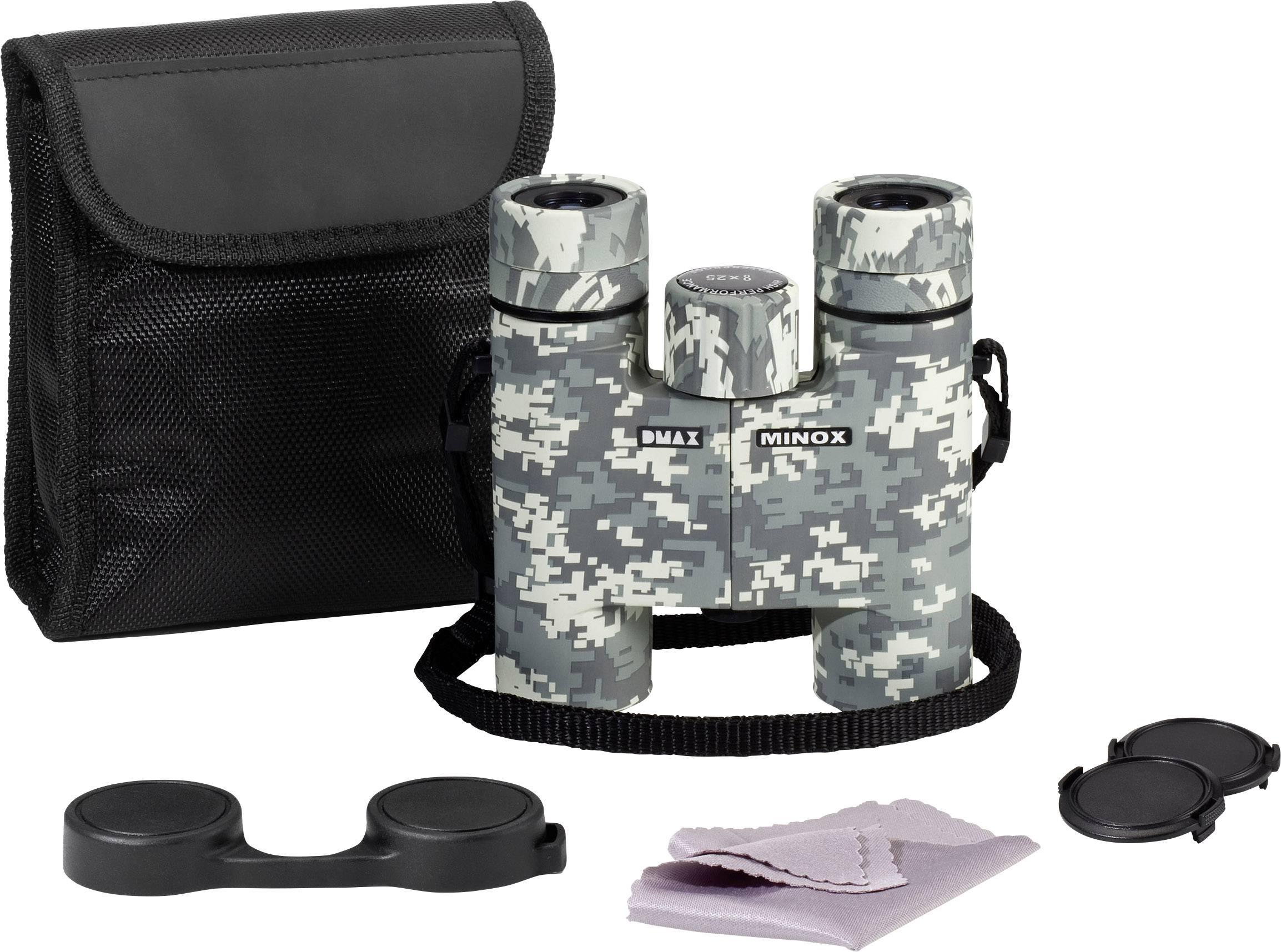 Minox 8 x 25 Pixel Camo Fernglas 8-fach 25 mm Camouflage