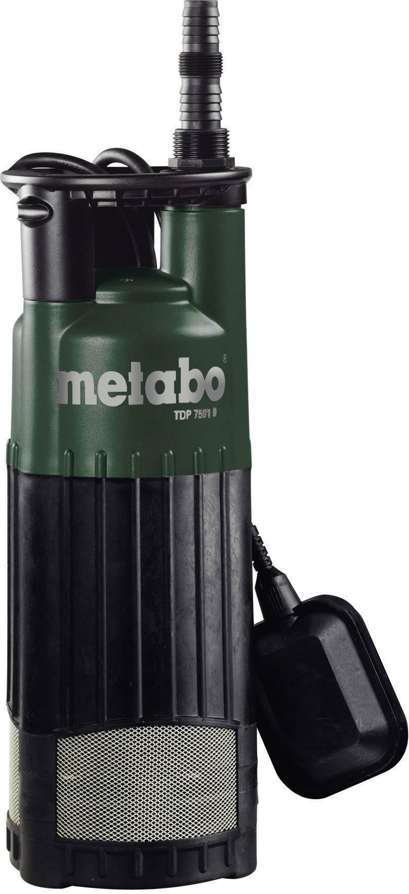 Metabo 0250750100 Tauchdruck-Pumpe  7500 l/h 34 m