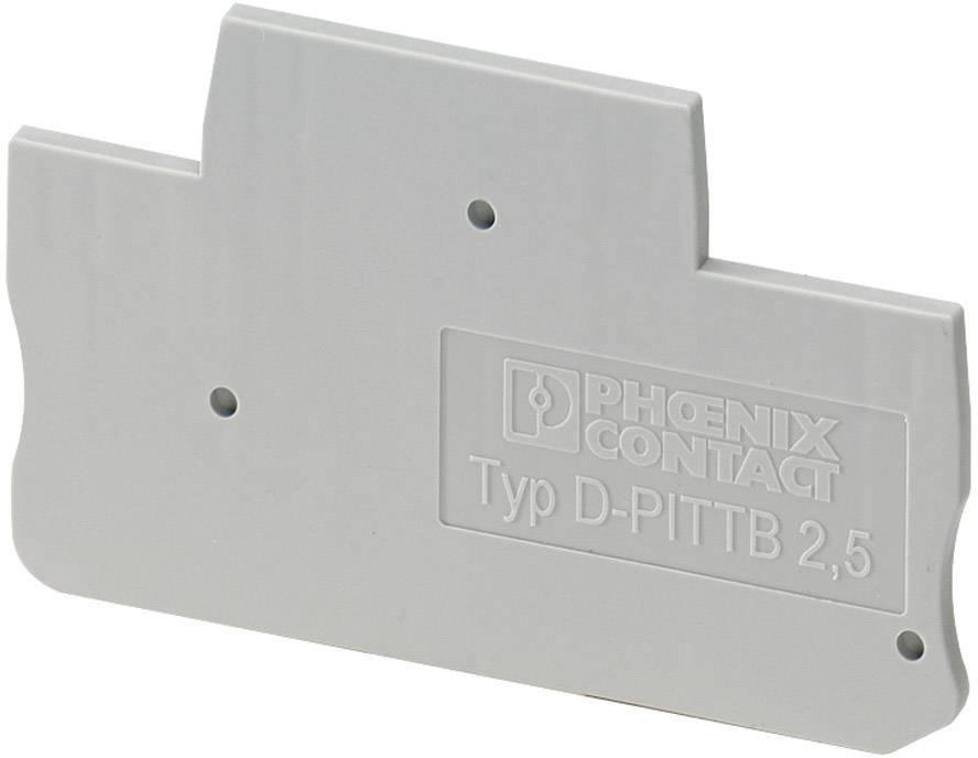 Abschlussdeckel D-DTI 2,5 D-DTI 2,5 Phoenix Contact Inhalt: 1 St.