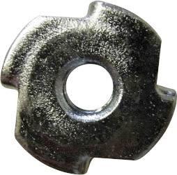 TOOLCRAFT  812863 Einschlagmuttern M3      Stahl  50 St.