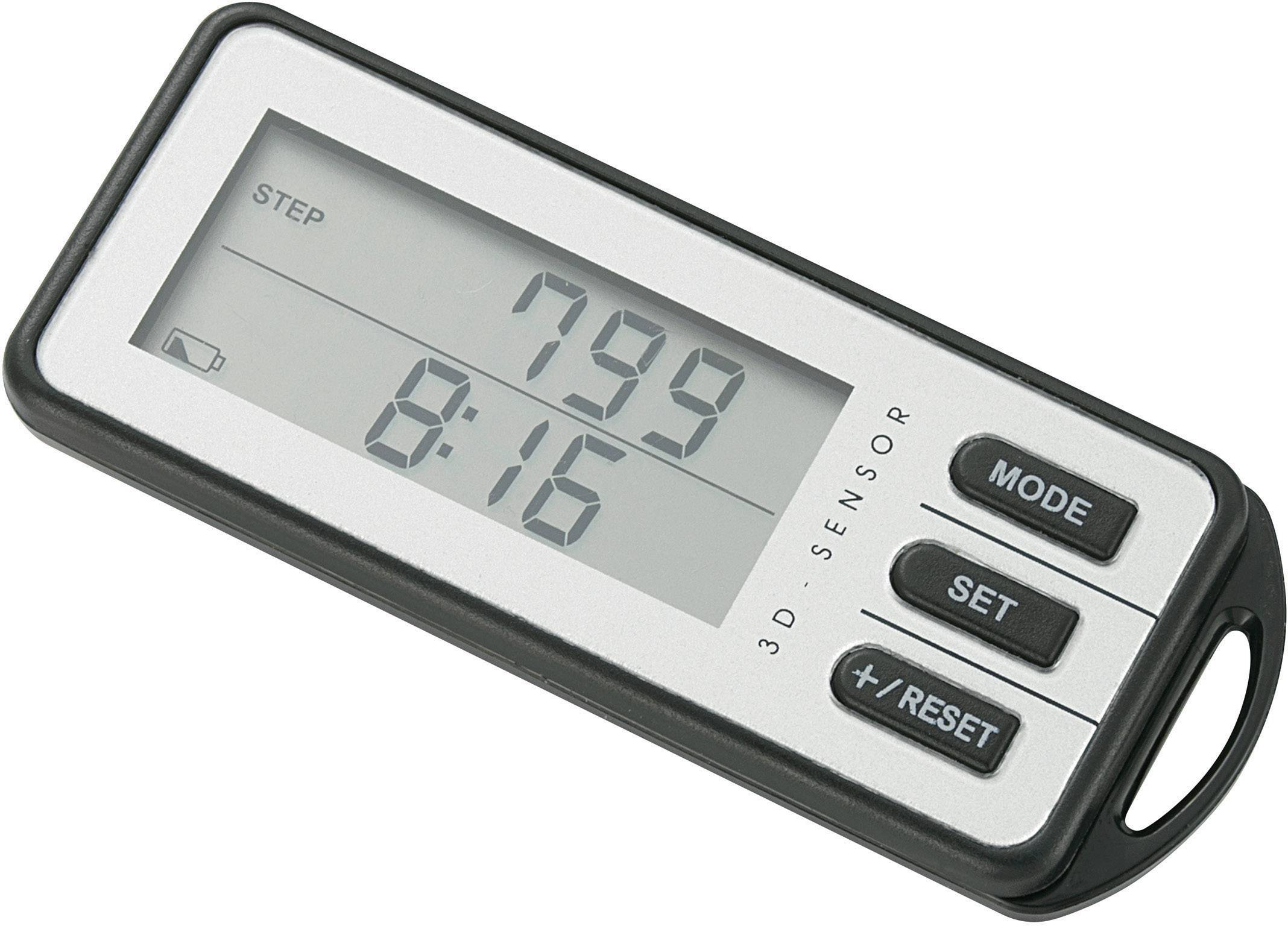 PDG-001 Schrittzähler Weiß/Schwarz