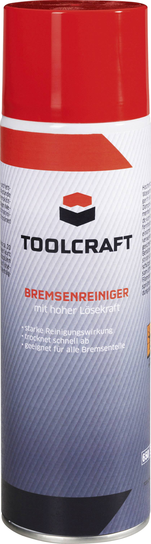 Bremsenreiniger TOOLCRAFT  893926 24 St.