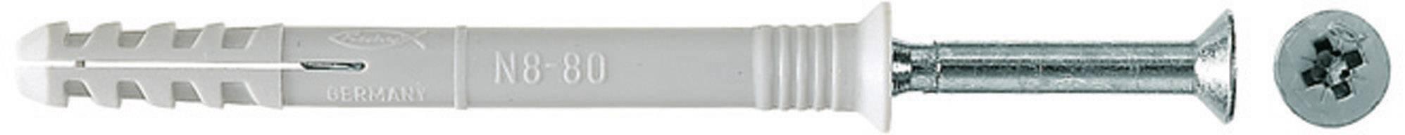 Fischer N 6 x 60/30 S Nageldübel 60 mm 6 mm 048789 100 St.