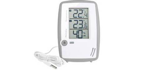 Kabelgebundene Thermo- und Hygrometer