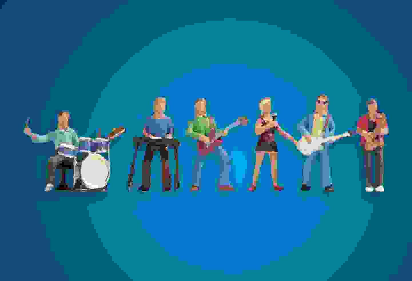 Noch - N Figuren Band »