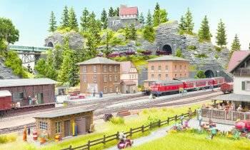 Modellbahn-Anlage
