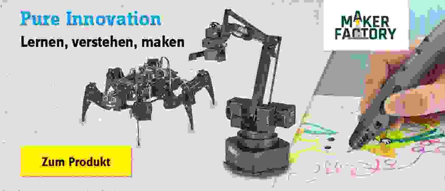 Makerfactory - Die Marke für Technikbegeisterte