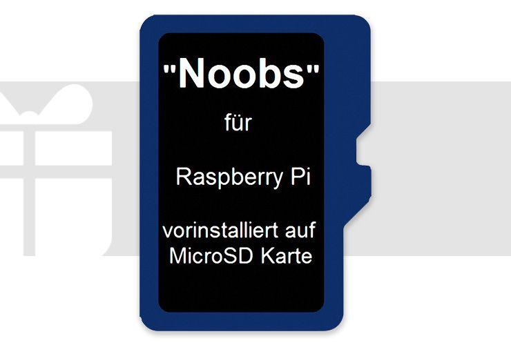 Raspberry Pi® - Noobs Betriebssystem 16 GB